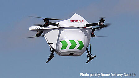 Drone Delivery Canada Sparrow Drone